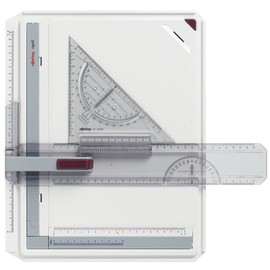 Zeichenplatte Rapid A4 weiß/rot Rotring S0232710 Produktbild