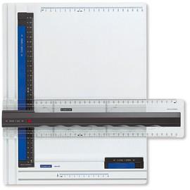 Zeichenplatte Mars A4 weiß/blau Staedtler 661A4 Produktbild