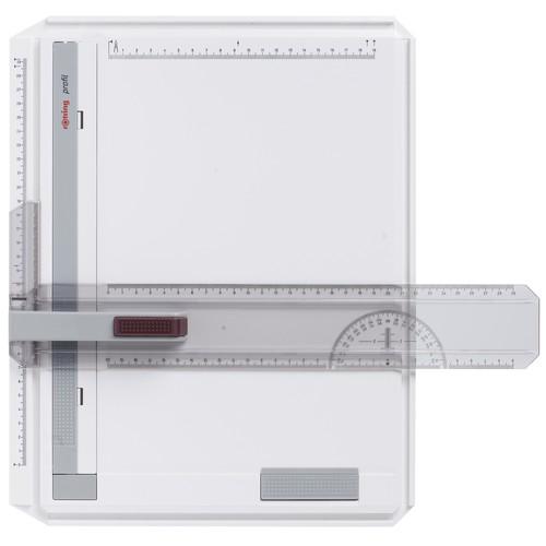 Zeichenplatte Profil A4 weiß/rot Rotring S0232430 Produktbild Front View L