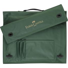 Zeichenplatten-Tasche mit Griff A3 grün Nylon Faber Castell 175703 Produktbild
