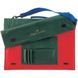 Zeichenplatten-Tasche mit Schultergurt + Griff A4 grün Nylon Faber Castell 175704 Produktbild