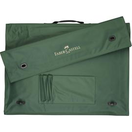 Zeichenplatten-Tasche mit Griff A4 grün Nylon Faber Castell 175704 Produktbild
