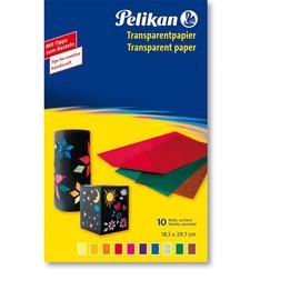 Transparentpapier Mappe 233M/10 30x18cm sortiert Pelikan 137943 (ST=10 BLATT) Produktbild