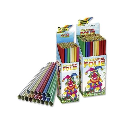 Tonpapier Einzelbogen 50x70cm 130g zitronengelb Bringmann 6712 Produktbild Additional View 1 L