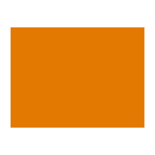 Tonpapier Einzelbogen 50x70cm 130g orange Bringmann 6740 Produktbild
