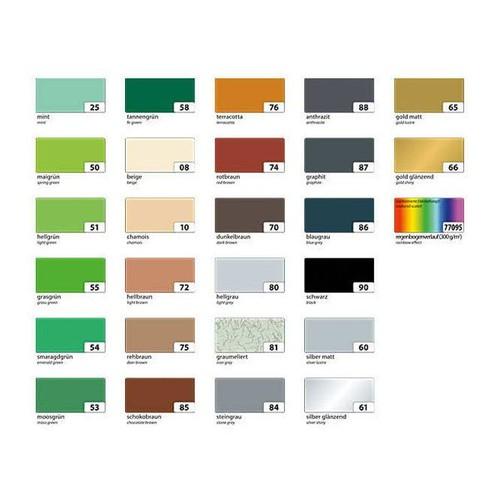 Tonpapier Einzelbogen 50x70cm 130g orange Bringmann 6740 Produktbild Additional View 2 L