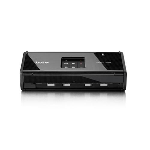 Dokumentenscanner mit WLAN- Schnittstelle Brother ADS-1100W Produktbild Front View L