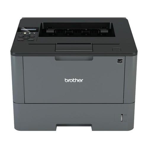 Brother HL-L5200DW mit LAN-/WLAN-/ USB-Schnittstelle A4 S/W Laserdrucker inkl. UHG 250 Blatt Papierkassette Produktbild Front View L