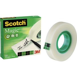 Klebeband Scotch Magic 810 12mm x 33m matt unsichtbar 3M M8101233 (RLL=33 METER) Produktbild