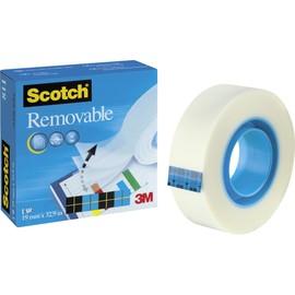 Klebeband Scotch Removable 811 19mm x 33m matt wiederablösbar 3M M8111933 (RLL=33 METER) Produktbild