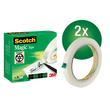 Klebeband Scotch Magic 810 12mm x 66m matt unsichtbar 3M M8101266 (PACK=66 METER) Produktbild