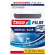 Klebefilm Kristall-klar 19mm x 10m transparent klar Tesa 57329-00000-2 (RLL=10 METER) Produktbild Additional View 1 S