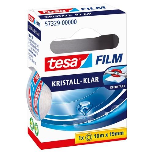 Klebefilm Kristall-klar 19mm x 10m transparent klar Tesa 57329-00000-2 (RLL=10 METER) Produktbild Additional View 2 L