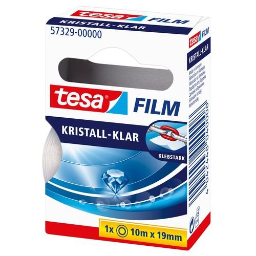Klebefilm Kristall-klar 19mm x 10m transparent klar Tesa 57329-00000-2 (RLL=10 METER) Produktbild Additional View 3 L