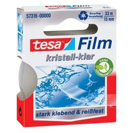 Klebefilm Kristall-klar 15mm x 33m transparent klar Tesa 57316-00000-01 (RLL=33 METER) Produktbild