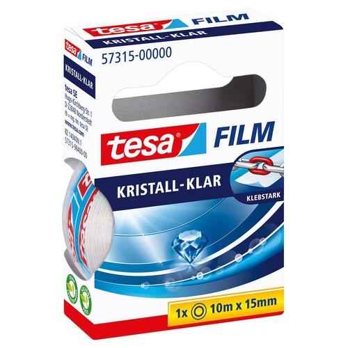 Klebefilm Kristall-klar 15mm x 10m transparent klar Tesa 57315-00000-01 (RLL=10 METER) Produktbild Additional View 1 L