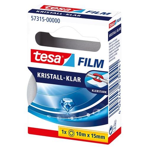 Klebefilm Kristall-klar 15mm x 10m transparent klar Tesa 57315-00000-01 (RLL=10 METER) Produktbild Additional View 2 L