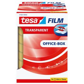 Klebefilm Transparent 19mm x 66m transparent Tesa 57406-00002-00 (PACK=8 ROLLEN) Produktbild