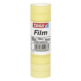 Klebefilm Standard 15mm x 10m transparent Tesa 57386-00002-00 (PACK=10 ROLLEN) Produktbild