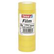 Klebefilm Standard 19mm x 33m transparent Tesa 57207-00001-00 (PACK=8 ROLLEN) Produktbild