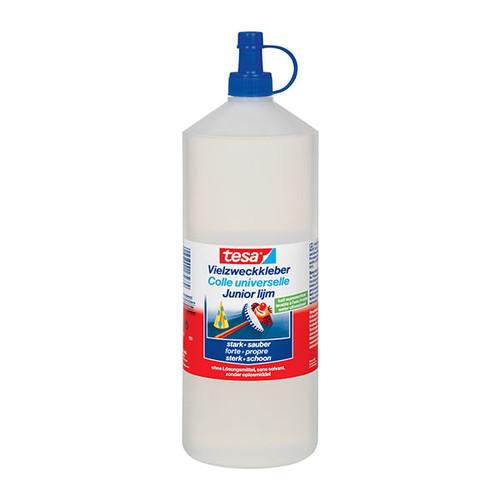 Klebstoff Vielzweckkleber 1000g Flasche flüssig Tesa 57022-00003-02 (FL=1000 GRAMM) Produktbild Front View L
