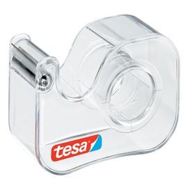 Handabroller Easy Cut Economy leer füllbar bis 19mm x 10m transparent Tesa 57447-00001-00 Produktbild