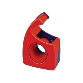 Handabroller Easy Cut leer füllbar bis 19mm x 10m rot/blau Tesa 57443-00001-00 Produktbild