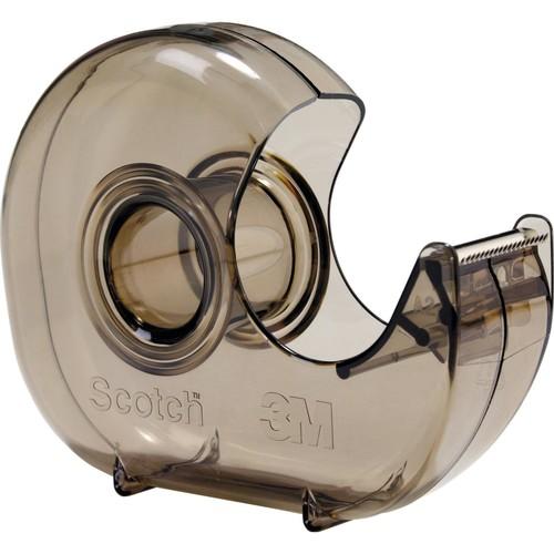 Handabroller Scotch leer füllbar bis 19mm x 33m transparent 3M H-127 Produktbild Front View L