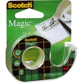 Handabroller Scotch + 1Rolle Magicfilm 810 füllbar bis 19mm x 7,5m transparent 3M 810H1975 Produktbild