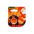 Handabroller Scotch + 1 Rolle Klebefilm 600 füllbar bis 12mm x 10m kristallklar 3M 600H1210 Produktbild