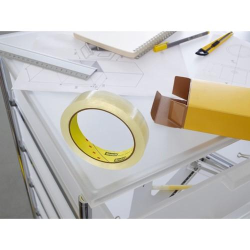 Klebeband Scotch doppelseitig 12mm x 6,3m transparent 3M 6651263 (PACK=2 ROLLEN) Produktbild Additional View 1 L