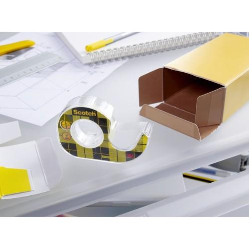 Klebeband Scotch doppelseitig 12mm x 6,3m transparent 3M 6651263 (PACK=2 ROLLEN) Produktbild Additional View 2 L