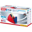 Tischabroller Easy Cut leer füllbar bis 25mm x 66m rot/blau Tesa 57422-00000-02 Produktbild Additional View 2 S