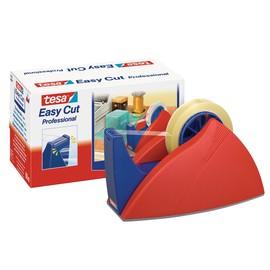 Tischabroller Easy Cut leer füllbar bis 25mm x 66m rot/blau Tesa 57422-00000-02 Produktbild