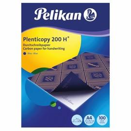 Blaupapier Plentycopy 200H für Handbeschriftung A4 Pelikan 404426 (PACK=100 BLATT) Produktbild