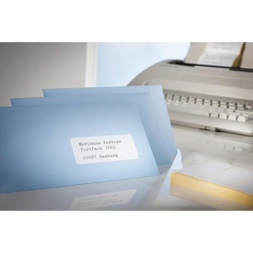 Adress-Etiketten für Handbeschriftung 95x47mm weiß permanent Zweckform 3350 (PACK=240 STÜCK) Produktbild Additional View 2 L