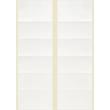 Adress-Etiketten für Handbeschriftung 95x47mm weiß permanent Zweckform 3350 (PACK=240 STÜCK) Produktbild Additional View 1 S