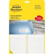 Adress-Etiketten für Handbeschriftung 95x47mm weiß permanent Zweckform 3350 (PACK=240 STÜCK) Produktbild