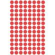 Markierungspunkte 8mm ø rot Zweckform 3010 (PACK=416 STÜCK) Produktbild Additional View 1 S