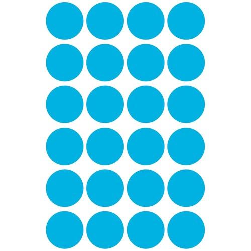Markierungspunkte 18mm ø blau Zweckform 3005 (PACK=96 STÜCK) Produktbild Additional View 1 L