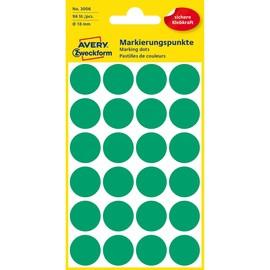 Markierungspunkte 18mm ø grün Zweckform 3006 (PACK=96 STÜCK) Produktbild