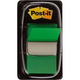 Haftstreifen Post-it Index 25,4x43,2mm grün transparent 3M I680-3 (PACK=50 STÜCK) Produktbild