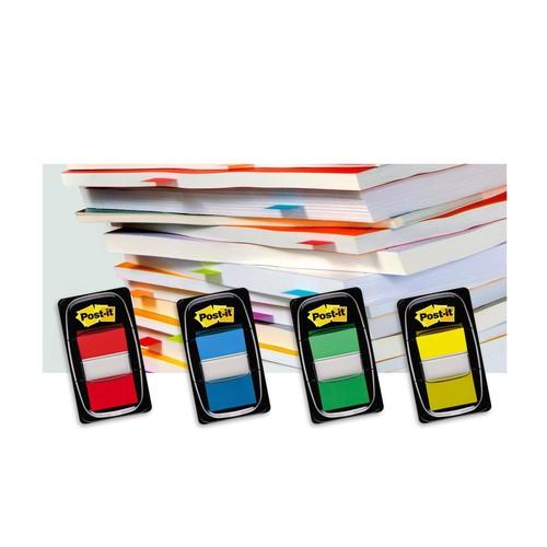 Haftstreifen Post-it Index 25,4x43,2mm türkis transparent 3M I680-23 (PACK=50 STÜCK) Produktbild Additional View 6 L