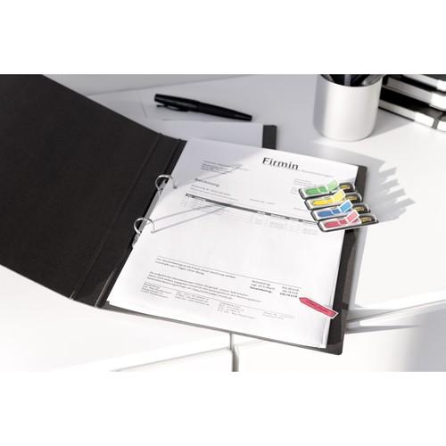 Haftstreifen Post-it Index Pfeile 11,9x43,2mm 4 Grundfarben transparent 3M 684ARR3 (PACK=4x 24 STÜCK) Produktbild Additional View 1 L