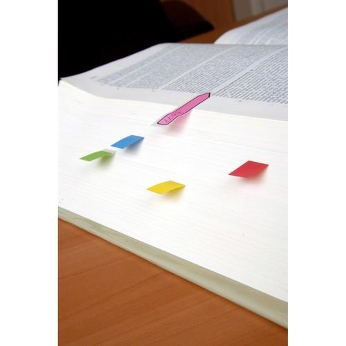Haftstreifen Post-it Index Pfeile 11,9x43,2mm 4 Grundfarben transparent 3M 684ARR3 (PACK=4x 24 STÜCK) Produktbild Additional View 2 L