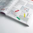 Haftstreifen Post-it Index Pfeile 11,9x43,2mm 4 Grundfarben transparent 3M 684ARR3 (PACK=4x 24 STÜCK) Produktbild Additional View 5 S