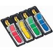 Haftstreifen Post-it Index Pfeile 11,9x43,2mm 4 Grundfarben transparent 3M 684ARR3 (PACK=4x 24 STÜCK) Produktbild