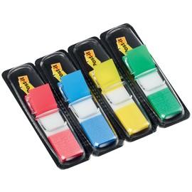 Haftstreifen Post-it Index Mini 11,9x43,2mm 4 Grundfarben transparent 3M 683-4 (PACK=4x 35 STÜCK) Produktbild