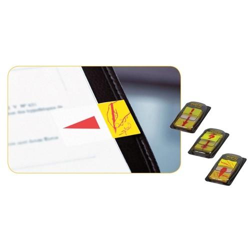 Haftstreifen Post-it Index Symbol Unterschrift 25,4x43,2mm gelb transparent 3M 680-31 (PACK=50 STÜCK) Produktbild Additional View 3 L