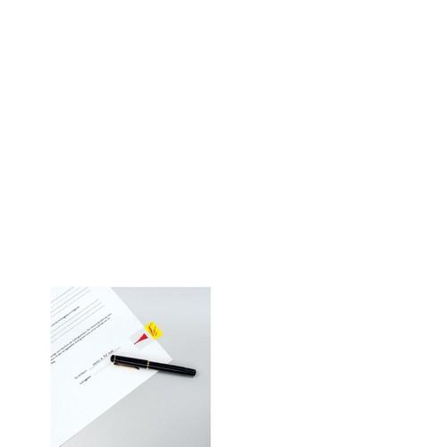 Haftstreifen Post-it Index Symbol Unterschrift 25,4x43,2mm gelb transparent 3M 680-31 (PACK=50 STÜCK) Produktbild Additional View 4 L